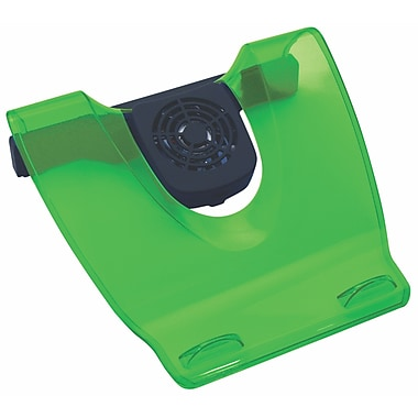 Vision 85008E Acrylic USB Laptop Cooling Stand, Emerald