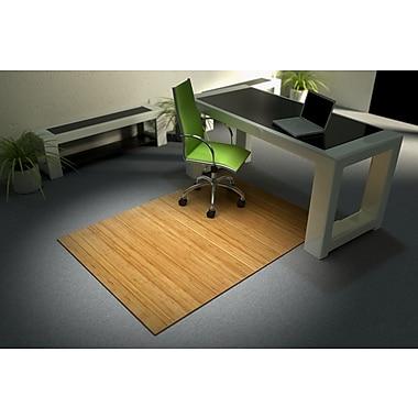 Vision – Sous-chaises en bambou CMU001LT, 36 X 48, naturel