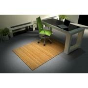 Vision CMU001LT Chairmat Bamboo, 36 x 48, Natural