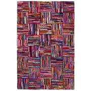 St. Croix Brilliant Ribbon Tiles Area Rug; 4' x 6'