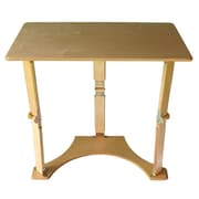 Spiderlegs Folding Laptop Desk/Tray Table; Natural Birch