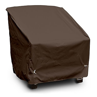 KoverRoos Weathermax Deep Seating High-Back Lounge Chair Cover; Chocolate
