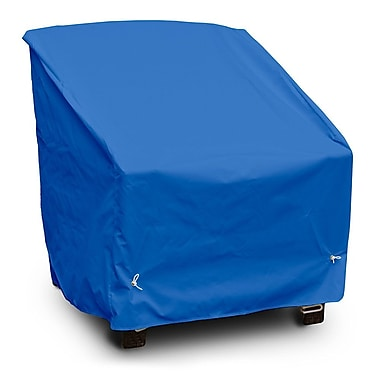 KoverRoos Weathermax Deep Seating High-Back Lounge Chair Cover; Pacific Blue
