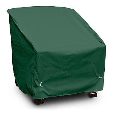 KoverRoos Weathermax Deep Seating High-Back Lounge Chair Cover; Forest Green