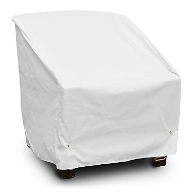 KoverRoos Weathermax Deep Seating High-Back Lounge Chair Cover; White