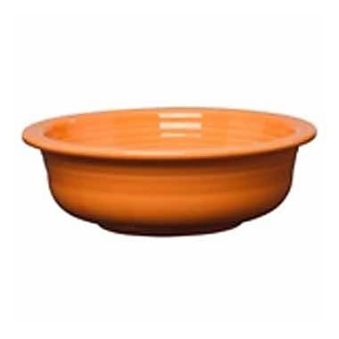 Fiesta Serving Bowl; Tangerine
