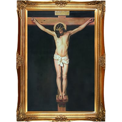 Tori Home Christ on the Cross by Diego Velazquez Framed Painting Print