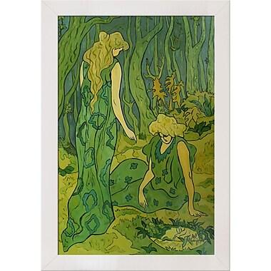 Tori Home Femmes dans la foret by Paul-Elie Ranson Framed Painting