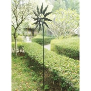Zingz & Thingz Spinning Sunrays Windmill Garden Stake