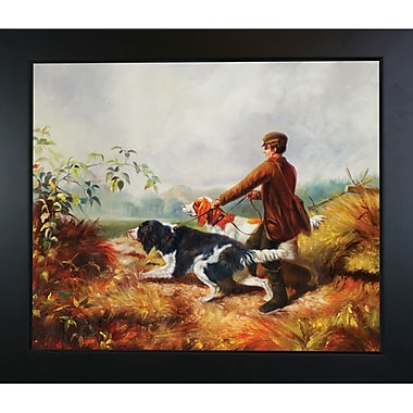Tori Home Going Out by Arthur Fitzwilliam Tait Framed Painting Print