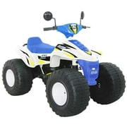CTM Homecare Product, Inc. Big Beach Racer 12V Battery Powered ATV; White / Blue