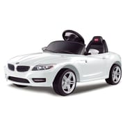 Vroom Rider BMW Z4 Rastar 6V Battery Powered Car; White