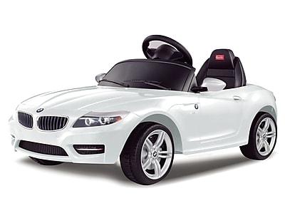 Vroom Rider BMW Z4 Rastar 6V Battery Powered Car; White