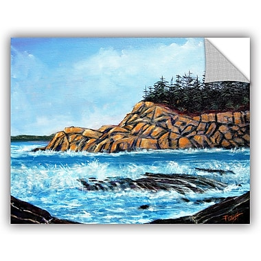 ArtWall 'Roll Tide' by Gene Foust Painting Print on Canvas; 36'' H x 48'' W x 0.1'' D