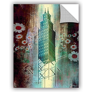 ArtWall 'Spring Time in The City' by Greg Simanson Graphic Art; 32'' H x 24'' W x 0.1'' D