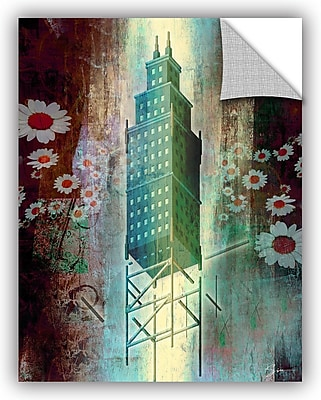 ArtWall 'Spring Time in The City' by Greg Simanson Graphic Art; 48'' H x 36'' W x 0.1'' D