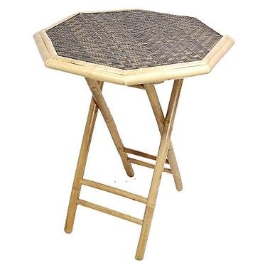 Heather Ann Side Table; Grey