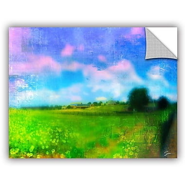 ArtWall 'Homeland' by Greg Simanson Painting Print; 36'' H x 48'' W x 0.1'' D