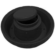 Good Ideas Round Plastic Pot Planter; Black