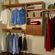 John Louis Home Woodcrest 120''W Closet System; Carmel