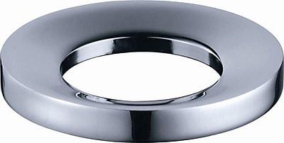 Kraus Exquisite Mounting Ring; Chrome