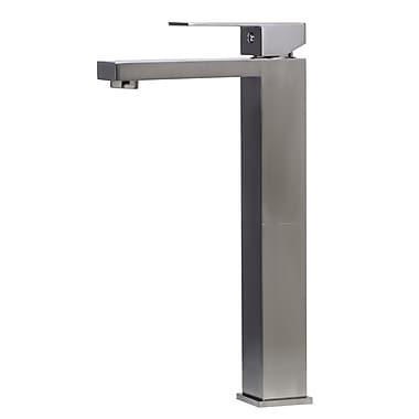 Alfi Brand Single Handle Bathroom Faucet I; Brushed Nickel