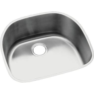 Elkay Lustertone 23.56'' x21.13'' Undermount Kitchen Sink