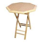 Heather Ann Side Table; Tan
