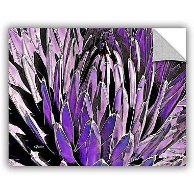 ArtWall 'Queen Victoria Agave' by Linda Parker Photographic Print; 36'' H x 48'' W x 0.1'' D