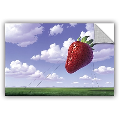 ArtWall 'Strawberry Field' by Jerry Lofaro Photographic Print; 32'' H x 48'' W x 0.1'' D