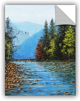 ArtWall 'Purified' by Gene Foust Painting Print on Canvas; 18'' H x 14'' W x 0.1'' D
