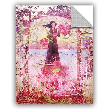ArtWall 'Flower Happy' by Greg Simanson Painting Print; 48'' H x 36'' W x 0.1'' D