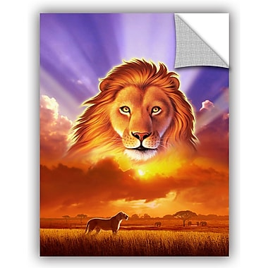 ArtWall 'The Lion King' by Jerry Lofaro Graphic Art; 32'' H x 24'' W x 0.1'' D