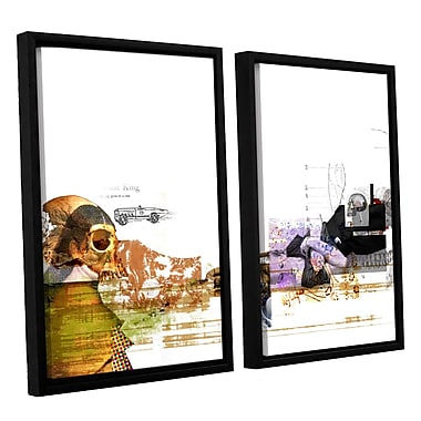 ArtWall 'Stages' by Greg Simanson 2 Piece Framed Graphic Art on Wrapped Canvas Set