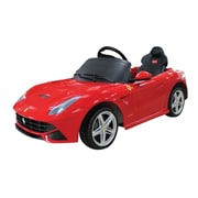 Vroom Rider Ferrari F12 Rastar 6V Battery Powered Car; Red