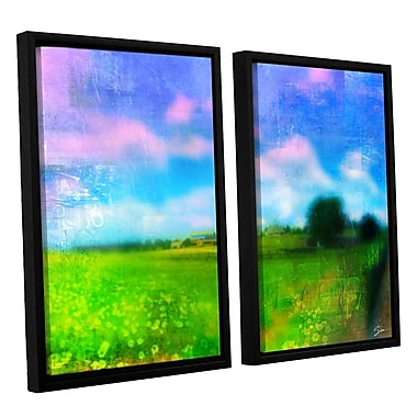 ArtWall 'Homeland' by Greg Simanson 2 Piece Framed Painting Print on Wrapped Canvas Set