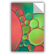 ArtWall 'Green' by Cora Niele Graphic Art on Canvas; 36'' H x 24'' W x 0.1'' D