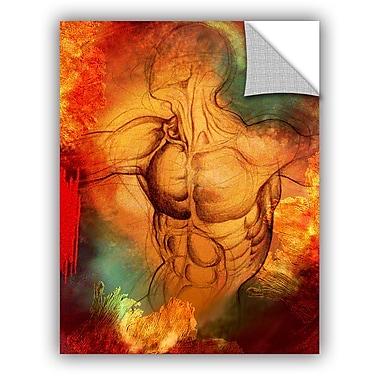 ArtWall 'Birthright IV' by Greg Simanson Graphic Art; 32'' H x 24'' W x 0.1'' D