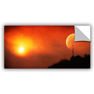 ArtWall 'Above The Sun' by Dragos Dumitrascu Photographic Print on Canvas; 24'' H x 48'' W x 0.1'' D