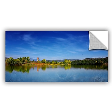 ArtWall 'The River of The Fall' by Dragos Dumitrascu Photographic Print; 24'' H x 48'' W x 0.1'' D