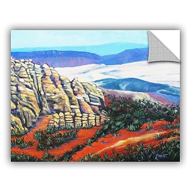 ArtWall Rocky Mountain Living by Gene Foust Painting Print on Canvas; 36'' H x 48'' W x 0.1'' D