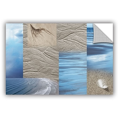 ArtWall 'Sand Sea' by Cora Niele Graphic Art on Canvas; 24'' H x 36'' W x 0.1'' D