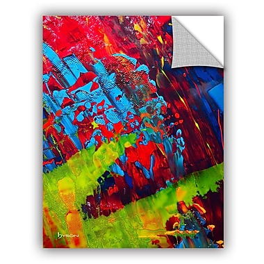 ArtWall 'Fun' by Byron May Painting Print on Canvas; 18'' H x 14'' W x 0.1'' D