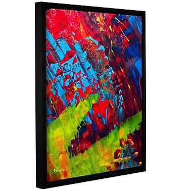 ArtWall 'Fun' by Byron May Framed Painting Print on Wrapped Canvas; 18'' H x 14'' W