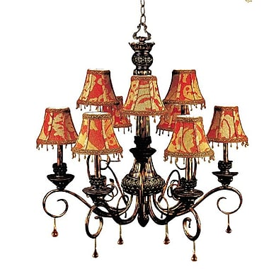 JB Hirsch Constantine 9-Light Shaded Chandelier