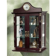 Jenlea Wall-Mounted Curio Cabinet