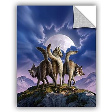 ArtWall 'Full Moon' by Jerry Lofaro Graphic Art; 24'' H x 18'' W x 0.1'' D