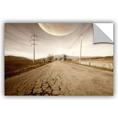 ArtWall 'The Road-Planet Side' by Dragos Dumitrascu Photographic Print on Canvas