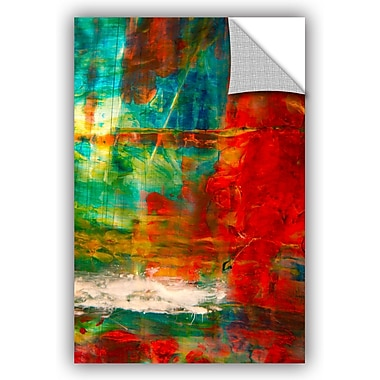 ArtWall 'The Abstract Forest' by Byron May Painting Print on Canvas; 18'' H x 12'' W x 0.1'' D