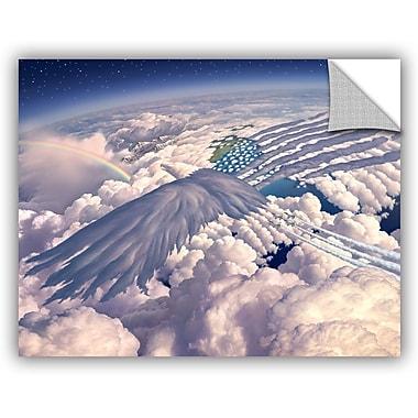 ArtWall 'Onward' by Jerry Lofaro Graphic Art; 36'' H x 48'' W x 0.1'' D